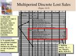 multiperiod discrete lost sales figure 16 9