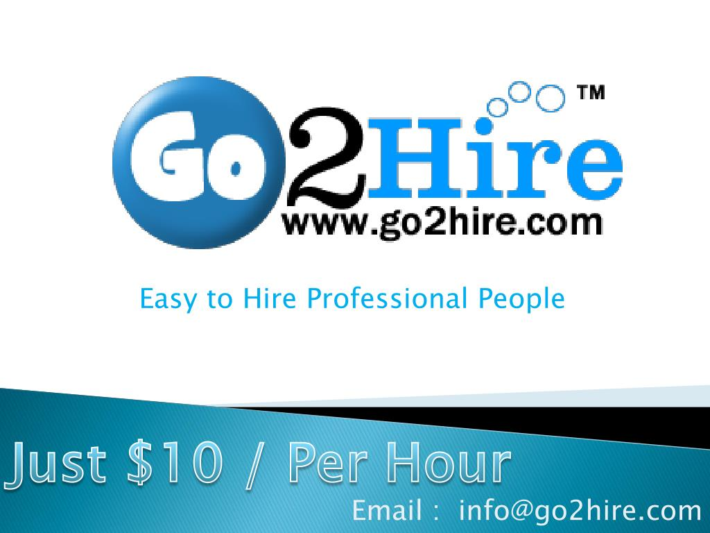 easy to hire professional people l.