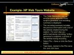example hp web tours website7