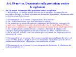 art 88 novies documento sulla protezione contro le esplosioni