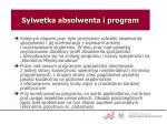 sylwetka absolwenta i program