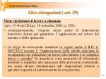 altre abrogazioni art 391
