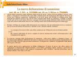 la nuova dichiarazione di assunzione art 40 co 2 d l n 112 2008 art 19 co 2 d lgs n 2762003