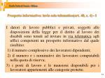 prospetto informativo invio solo telematico art 40 c 4 1