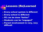 lessons re learned1