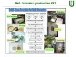 mat ceramici produzione pzt