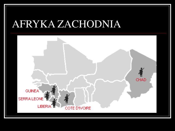 AFRYKA ZACHODNIA