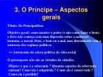 3 o pr ncipe aspectos gerais