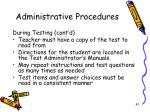 administrative procedures2