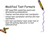 modified test formats1