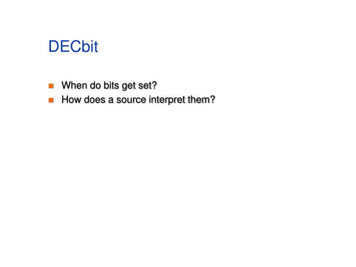 DECbit