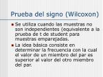 prueba del signo wilcoxon