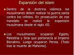 expansi n del islam