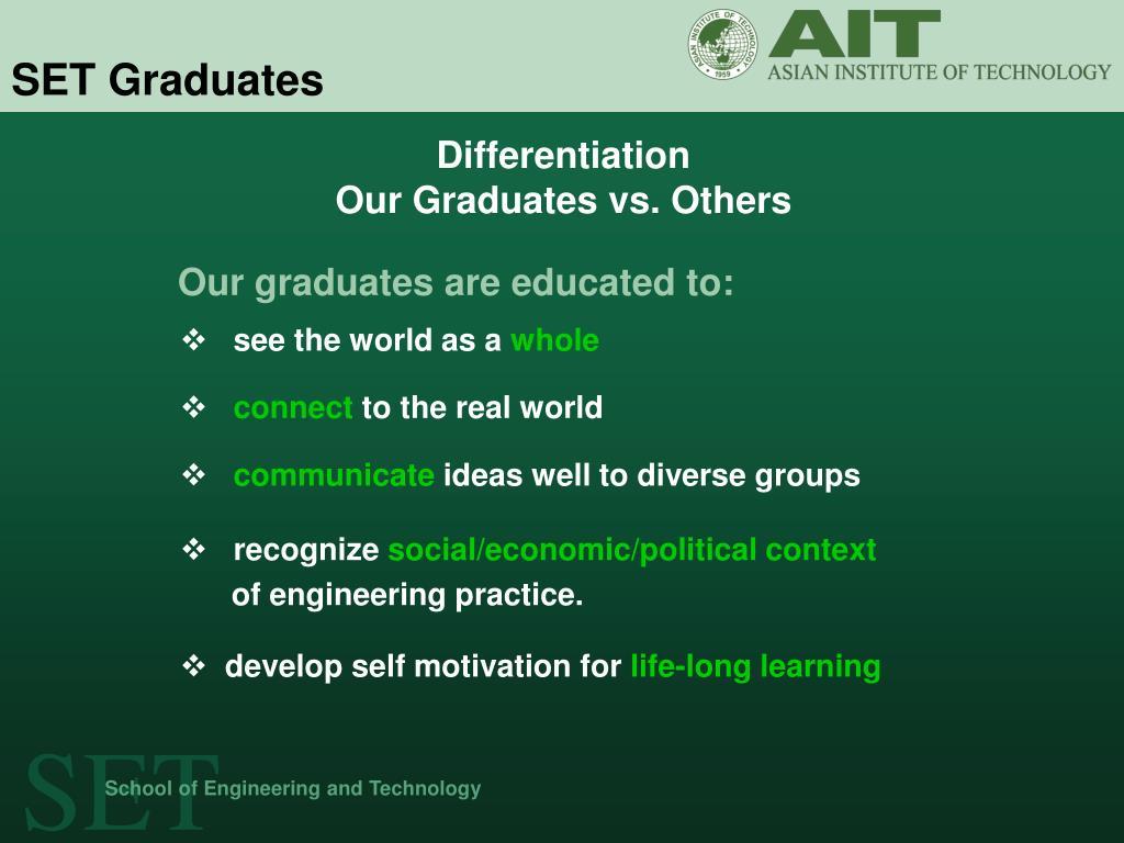 SET Graduates