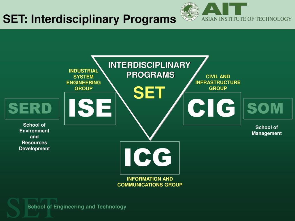 SET: Interdisciplinary Programs