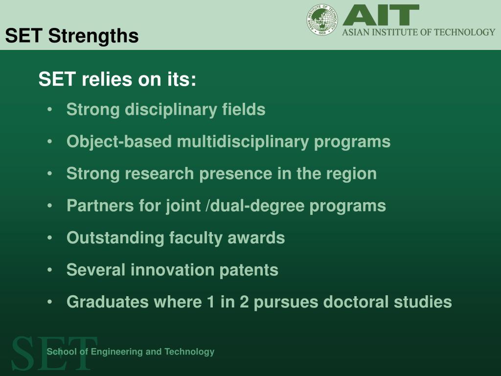 SET Strengths