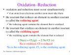 oxidation reduction1