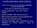 contrareforma previsional