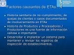 factores causantes de etas 4