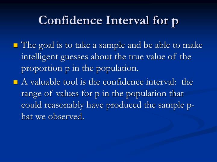 Confidence interval for p2