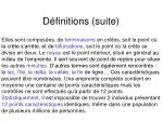 d finitions suite1