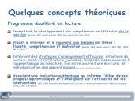 quelques concepts th oriques1