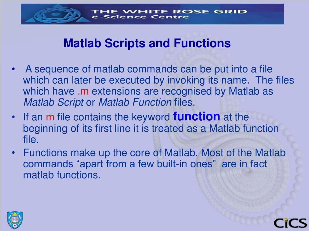 PPT - INTRODUCTION TO MATLAB Part 2 PowerPoint Presentation - ID:933134