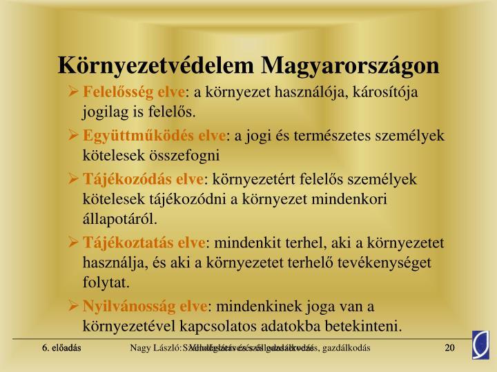 Környezetvédelem Magyarországon