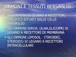 ormoni e tessuti bersaglio
