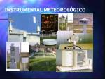 instrumental meteorol gico
