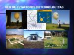 red de estaciones meteorol gicas