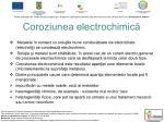 coroziunea electrochimic