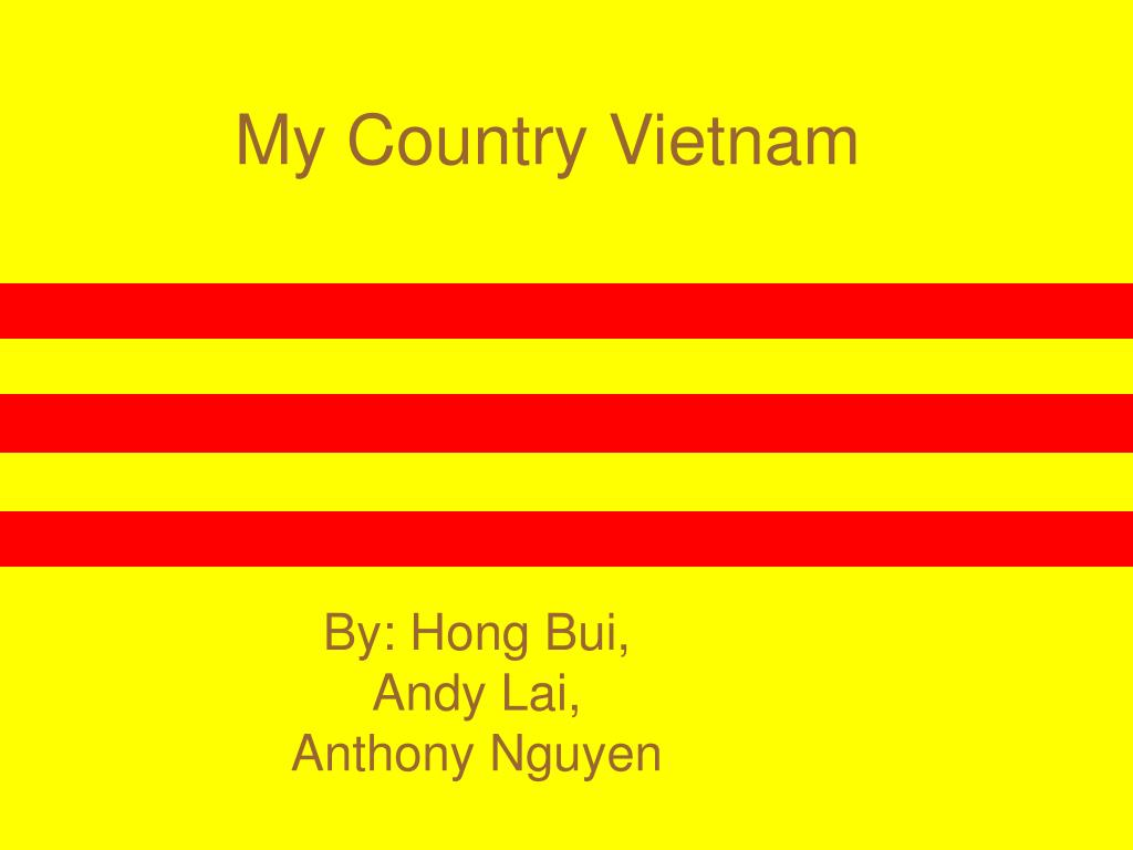 my country vietnam l.