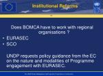 institutional reforms1