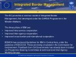 integrated border management