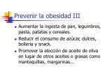 prevenir la obesidad iii