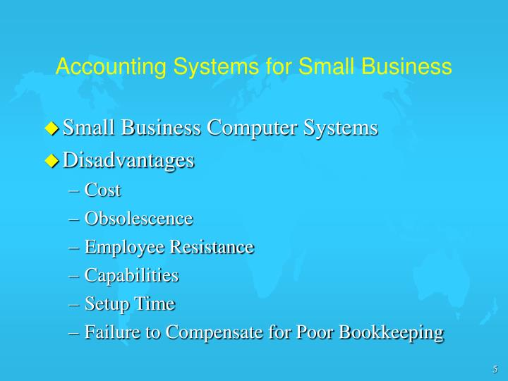 Accounting Systems for Small Business