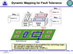 dynamic mapping for fault tolerance