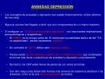 ansiedad depression