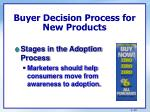 buyer decision process for new products1