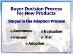 buyer decision process for new products2