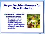 buyer decision process for new products3