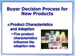 buyer decision process for new products4