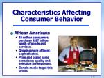 characteristics affecting consumer behavior2
