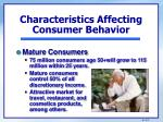 characteristics affecting consumer behavior4