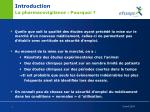 introduction la pharmacovigilance pourquoi