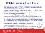rotation about a fixed axis 2