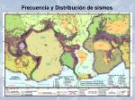 frecuencia y distribuci n de sismos1