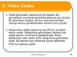9 video codec