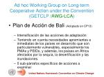 ad hoc working group on long term cooperative action under the convention getclp awg lca